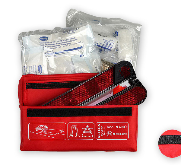 First-aid kit and warning triangle - Reflex Italy srl  9bf88a39bd10