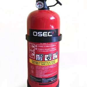 ART. 01121 - Estintore a polvere 2 Kg – classe di fuoco: 13A 89B C