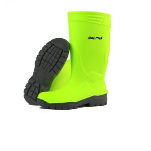 Stivali Poliuretano Alpha-Fluorescente giallo