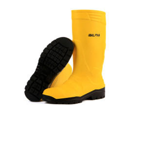 Stivale Poliuretano Alpha-Safety-S5_Giallo/Nero