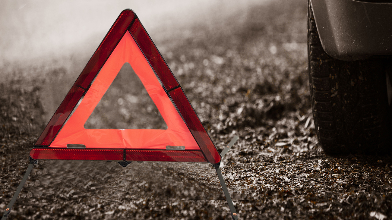 Nano Warning Triangle